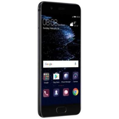 Huawei P10 64GB Dual SIM, fekete, Kártyafüggetlen, Gyártói garancia