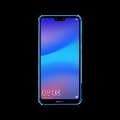 Huawei P20 Lite 64GB Dual SIM, kék, Kártyafüggetlen, Gyártói garancia