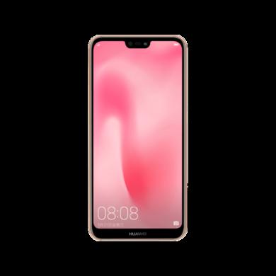 Huawei P20 Lite 64GB Dual SIM, rózsaszín, Kártyafüggetlen, Gyártói garancia