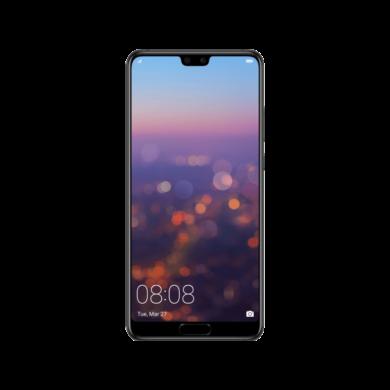 Huawei P20 128GB , éjfekete, Kártyafüggetlen, Gyártói garancia