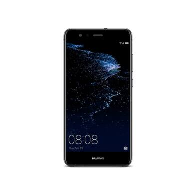 Huawei P10 Lite 32GB fekete, Kártyafüggetlen, Gyártói garancia
