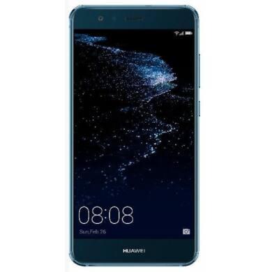 Huawei P10 Lite 32GB Dual SIM, kék, Kártyafüggetlen, Gyártói garancia