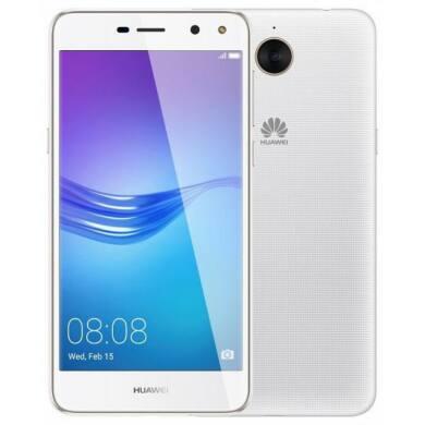 Huawei Y6 2017 16GB Dual SIM, fehér, Kártyafüggetlen, Gyártói garancia