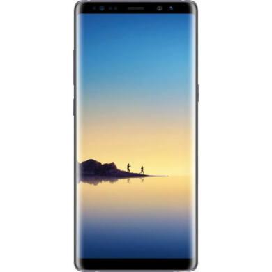 Samsung N950F Galaxy Note 8 64GB Dual SIM, fekete, Kártyafüggetlen, 1 év Gyártói garancia