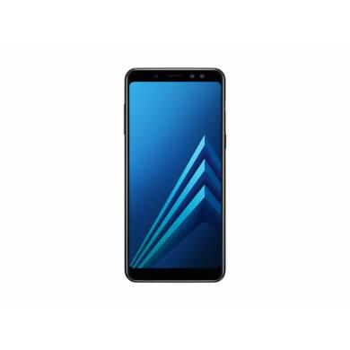 Samsung A530F Galaxy A8 (2018) 32GB Dual SIM, fekete, Kártyafüggetlen, 1 év Gyártói garancia