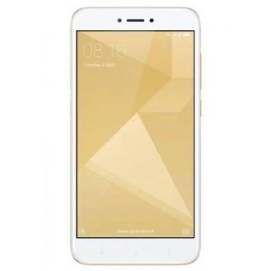 Xiaomi Redmi 4X 3GB 32GB Dual SIM (B20), arany, Kártyafüggetlen, 1 év teljes körű garancia